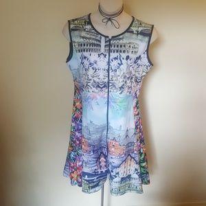 Dresses & Skirts - 🌟NWT🌟 Sleeveless printed dress